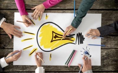 Manager avec les approches créatives et d'intelligence collective